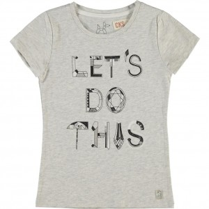 CKS T-Shirt ROXY light grey