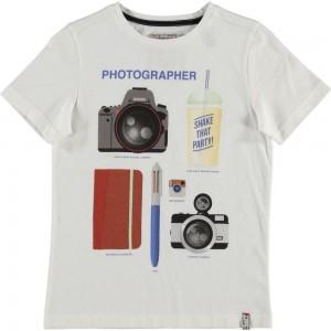 CKS T-Shirt HARING crispy white