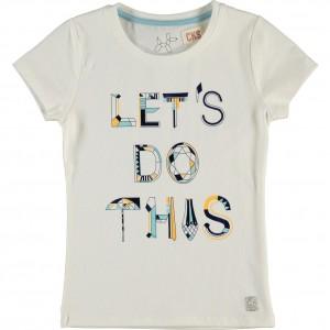 CKS T-Shirt ROXY crispy white