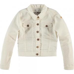 CKS Jeans-/Biker-Jacke JASMINTEA chrispy white