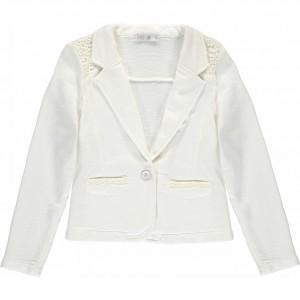 CKS Sweat-Blazer BOWIE pearl white