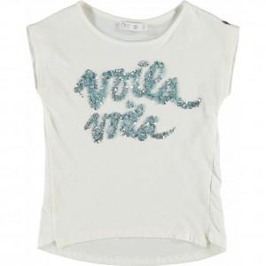 CKS T-Shirt VOILA pearl white