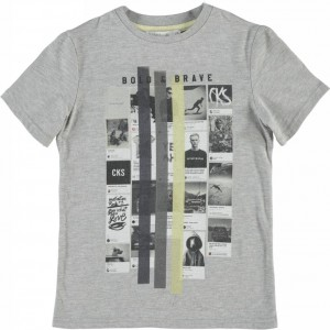 CKS T-Shirt MILLER light grey