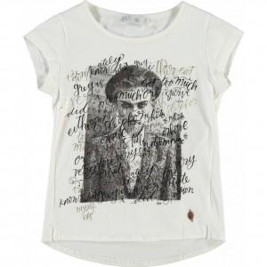 CKS T-Shirt SOPHIA pearl white