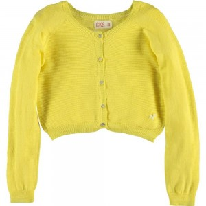 CKS Feinstrick Cardigan/Bolero MOON sunshine yellow