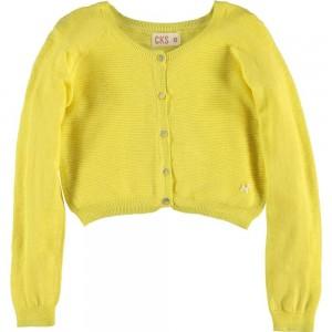 CKS Feinstrick Cardigan/Bolero MOON sunshine yellow