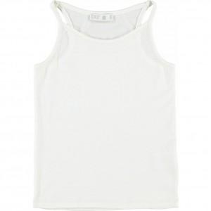 CKS Top SILIA pearl white