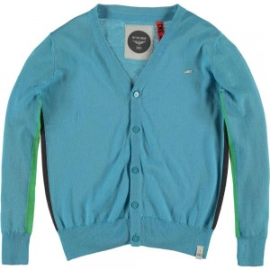 CKS Strick-Cardigan/-Jacke WOLF travel blue