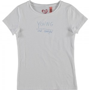 CKS Basic T-Shirt ROXY bright white