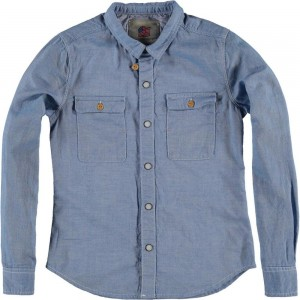 CKS Hemd ROEL chambray blue