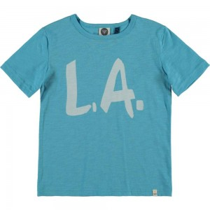 CKS T-Shirt HALI travel blue