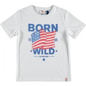CKS T-Shirt HOVAC bright white