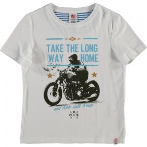 CKS T-Shirt HOTOR bright white