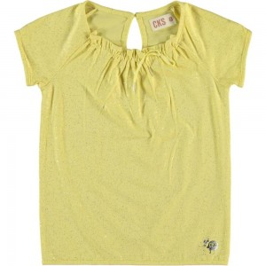 CKS T-Shirt FAME sunshine yellow
