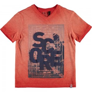CKS T-Shirt HULM red hot