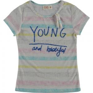 CKS T-Shirt HOPE pastel Streifen