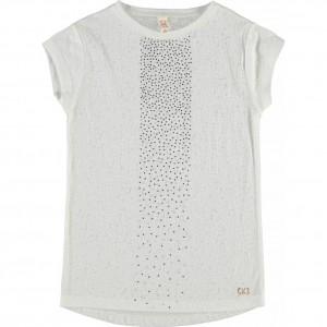 CKS T-Shirt LINEA pearl white