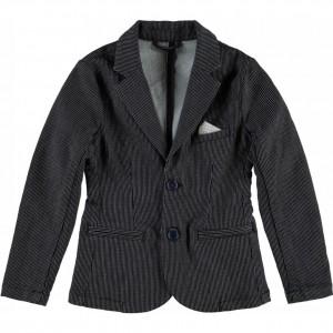 CKS Sweat-Jacket SEAN striped blue
