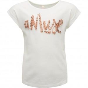 CKS T-Shirt AMUSE white copper