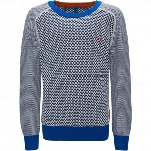 CKS Pullover CREWY indigo blue