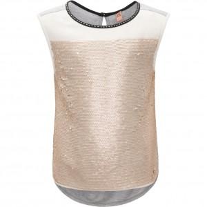 CKS Top/T-Shirt ESIRA white