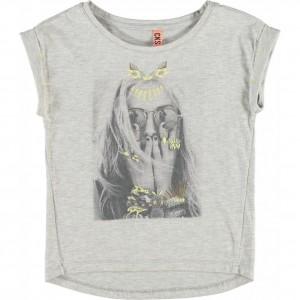 CKS T-Shirt ONI1 light grey
