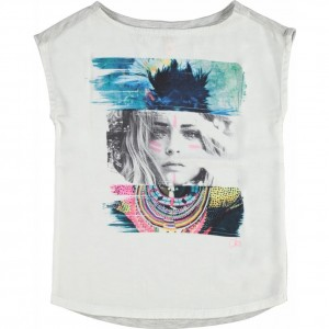 CKS T-Shirt TONI grey mele