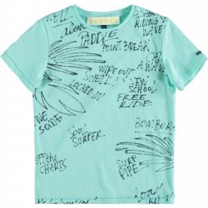 CKS T-Shirt TRAVIS aqua boost