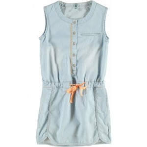 CKS Jeans-Kleid WOE blue chambray
