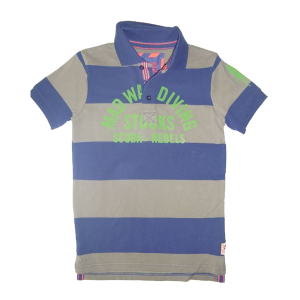 CKS Polo-Shirt Runt deep purple