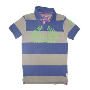 CKS Polo-Shirt Runt deep purple