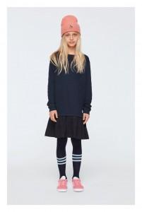 Molo Mädchen Langarm-Sweeatshirt-Kleid CAPRICE dark navy