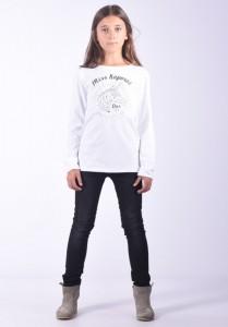 Kaporal Langarm-Shirt/Longsleeve DIEZE white