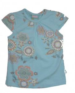 Paglie T-Shirt big flowers