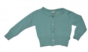 Paglie Mini Strickjacke/Cardigan blue light