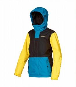 O´Neill Winter Ski Jacke VOLTA blau-schwarz-gelb