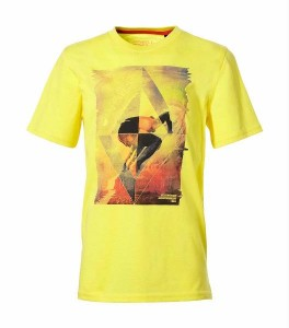 O´Neill T-Shirt Monrovia sunshine yellow Print