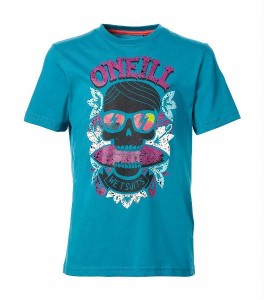O´Neill T-Shirt Ramsey bondi blue Totenkopf