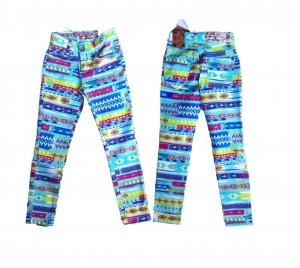 Blue Effect Mädchen Skinny-Jeans Ethno-Print