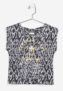 Kaporal Bluse / T-Shirt FAVEZE black 164 - 14y