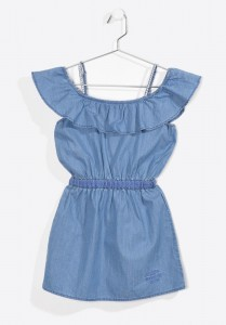 Kaporal Kleid denim FYLOUE blue