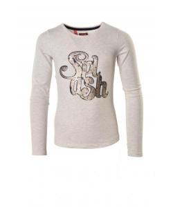 LIKE FLO Langarm-Shirt/Longsleeve SPLASH snow melee