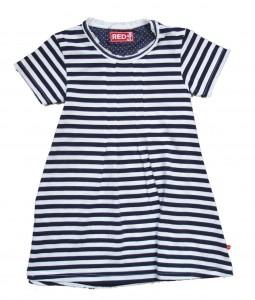 Paglie Jersey-Kleid Streifen navy-weiss