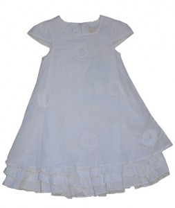Paglie Kleid weiß