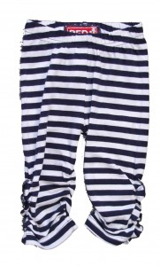 Paglie Legging in navy-weiss
