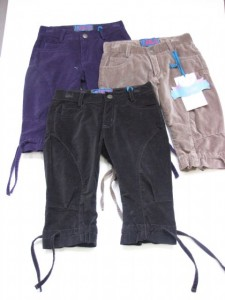 Paglie 3/4 Velour-Hose in sand