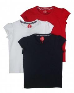 Paglie T-Shirt weiss