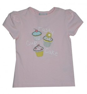 Paglie T-Shirt Cup Cake light rose