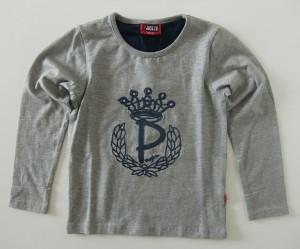 Paglie Langarm-Shirt / Longsleeve grey melange