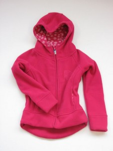 Paglie Fleece-Jacke pink